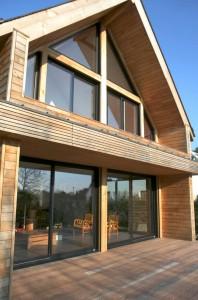Pour une maison passive optez pour une fen tre triple for Fenetre triple vitrage aluminium