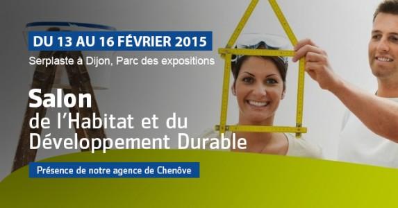 Salon de l 39 habitat et du d veloppement durable du 13 au 16 02 dijon blog serplaste - Salon developpement durable ...