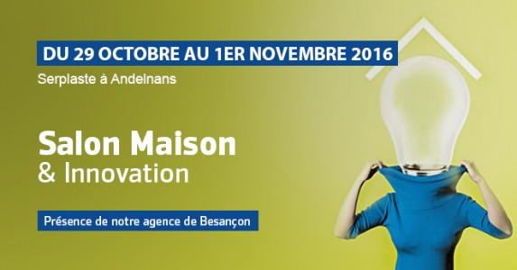 Salon maison innovation du 29 octobre au 1er novembre for Salons novembre 2016