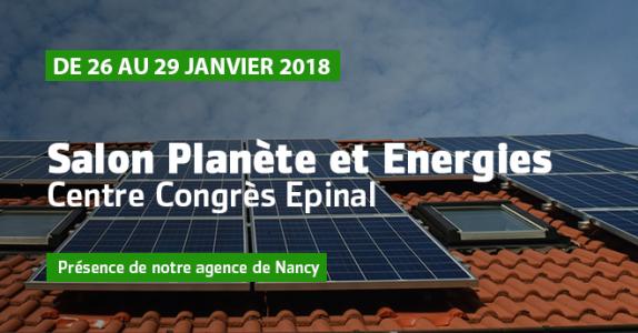 Salon Planète et Energies – Centre Congrès Epinal
